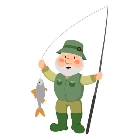 The old man fisherman.