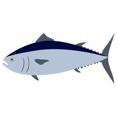Tuna. Vector illustration.