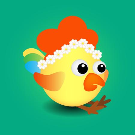 bird, rooster, 2017, vector, sign,