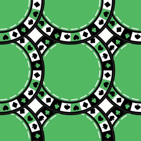 seamless clover: seamless pattern used for printing, websites, design, ukrasheniayya, interior, fabrics, etc.