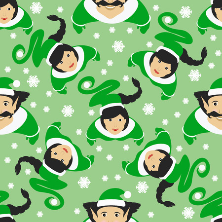 seamless pattern used for printing, websites, design, ukrasheniayya, interior fabrics etc Christmas theme