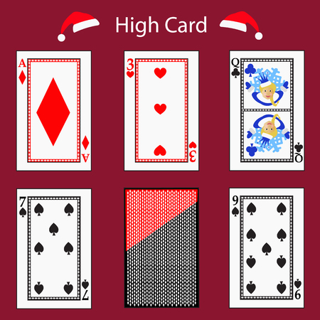 knave: high card playing card poker combination.
