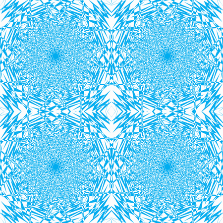 splinters: Vector a seamless example of blue and white color, pieces mozayka it is broken, splinters.