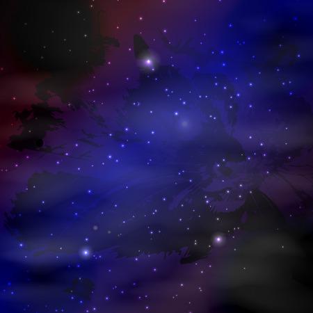 costellazioni: dark space with constellations