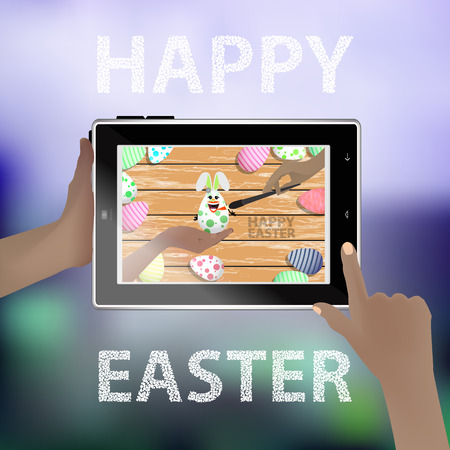 smart card: Easter vector. Illustration for your design.