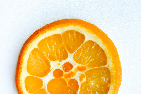 Orange hybrid orange juicy in slicing. Unusual inside. Photo for your design Stock Photo