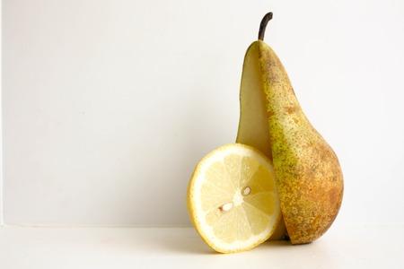 textured wall: Pear green and yellow lemon