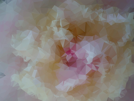 abstraction background vector illustration. white flower bud