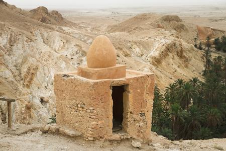 desierto del sahara: Casa en el desierto del Sahara en Túnez