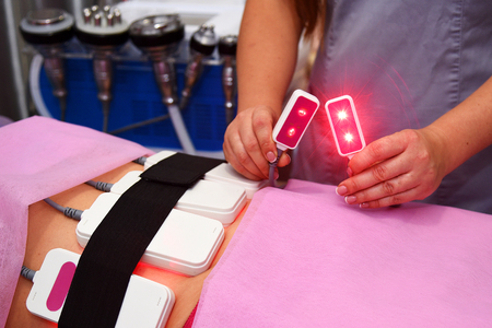 lipo laser. Hardware cosmetology. Body care. Non surgical body sculpting. body contouring, anti-cellulite and anti-fat therapy
