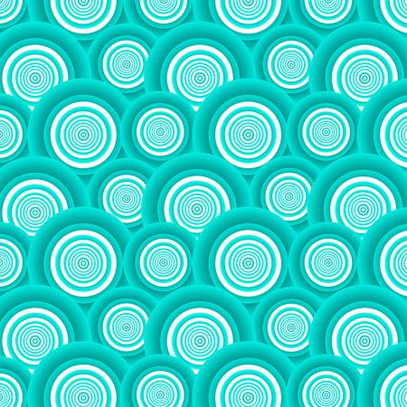azure: Pattern of azure circles.