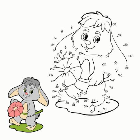 Numbers Game (rabbit) Ilustração