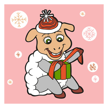 lamb cartoon: Character (sheep)