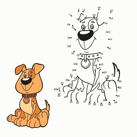 perro caricatura: N�meros del partido (perro)