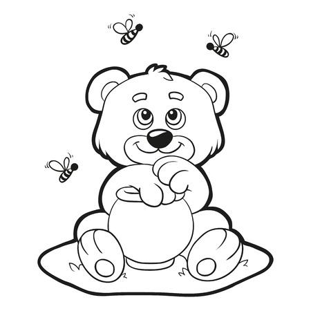 Coloring book (bear)