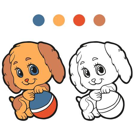 pooch: Coloring book (dog)