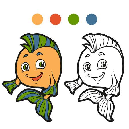 Coloring book (fish)