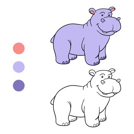 behemoth: Coloring book (hippo)