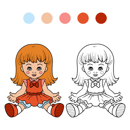 Coloring book (doll)