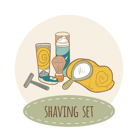 Shaving vector set