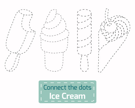 connect the dots: Connect the dots (Ice Cream)