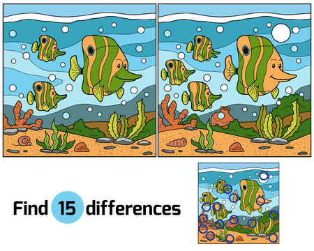 find: Find differences (fish)