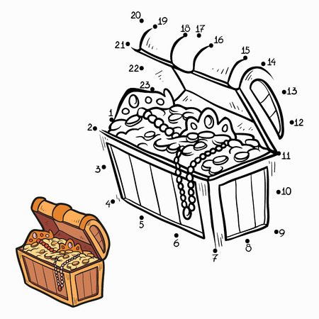 toy chest: Numbers game (treasure)