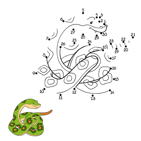 forked tongue: Numbers game (snake)