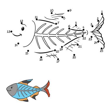 game fish: Numbers game (x-ray fish)