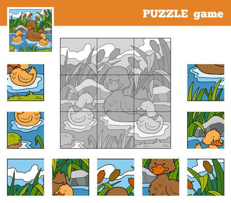 quack: Puzzle Game for children with animals (ducks)
