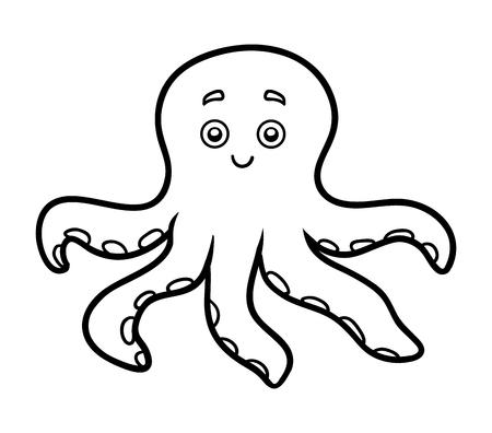 Wunderbar Malvorlagen Oktopus Zeitgenössisch - Ideen färben ...