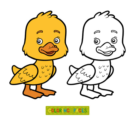 Yellow Ducks Coloring Pages Coloring Coloring Pages
