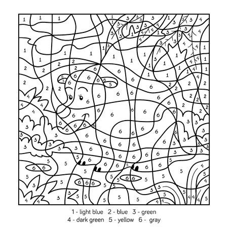 Nett Farbe Nach Zahlen Für Kinder Zeitgenössisch - Entry Level ...