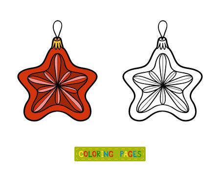 Libro De Colorante Para Los Niños, Juguete árbol De Navidad, ángel ...