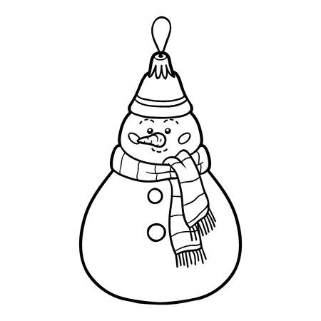 Malbuch Für Kinder, Weihnachtsbaum Spielzeug, Stern Lizenzfrei ...