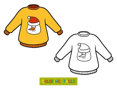 children book: Coloring book for children, Pullover