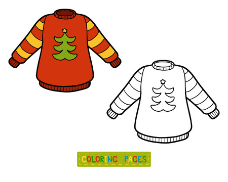 coloration: Coloring book for children, Pullover