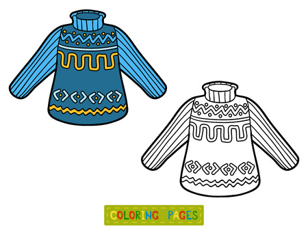 Coloring book for children, Pullover