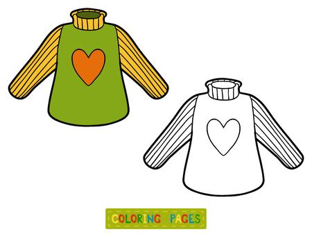 Libro De Colorante Para Los Niños, Sudadera Ilustraciones ...