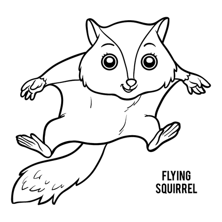 241 Squirrel Coloring Pages Stock Illustrations, Cliparts And ...