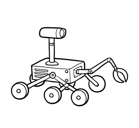 Coloring book for children, Rover