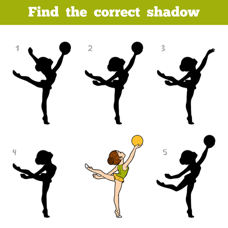 Find the correct shadow game for kids.