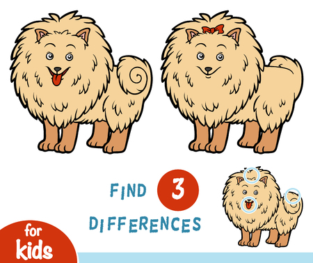 Find differences education game for children