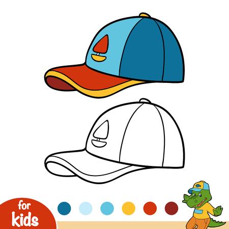 Coloring book for children, Cap