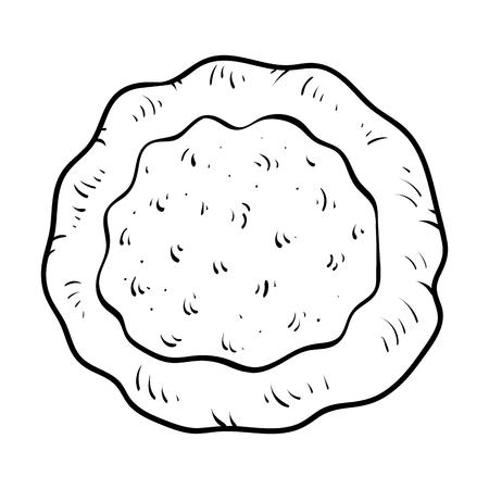 Coloring book for children, Pita bread