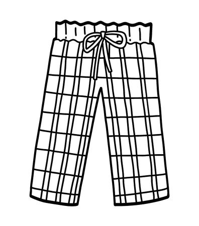 Coloring book for children, Pajama pants