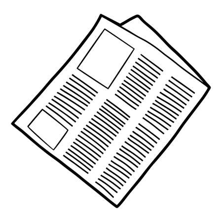 Coloring book for children, Newspaper