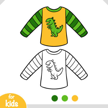 Coloring book for children, Sweatshirt for boys