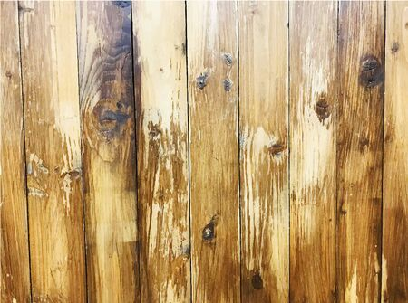 Vintage. Shabby Wood Background. old vintage wooden background with vertical boards. Brown wood wall of vertical boards. Close-up texture, copy space
