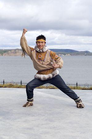 Chukchi man (position of the folk dance)
